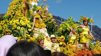 Take in the scents and colours of the annual 'Funchal Flower Festival' with Fred. Olsen Cruise Lines