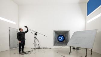 Semir in the reverberation chamber