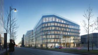 Det nye Hotel Scandic Spectrum på Kalvebod Brygge. Foto: Dissing+Weitling A/S