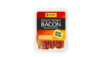 Skippa stekpannan – nu lanserar Tulip färdigstekt bacon