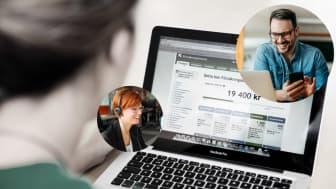 Försäkringskassan flyttar fysiska möten online med hjälp av Vergics engagement plattform.