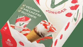 Krone-is V Jordbær
