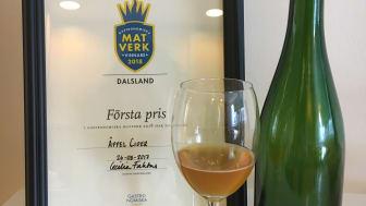 Edsleskog Äppelcider från  Dalsland går till riksfinalen i Matverk  som landsbygd. Cidern är en del i den plan Johan Postma och byns invånare har för Slow food-resor.