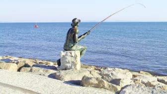 Patsas Durrësin rantapromenadin varrella