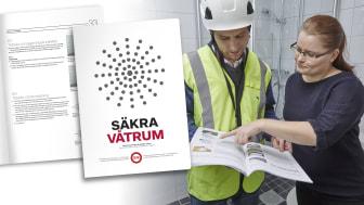 Uppdaterade branschregler bygger säkra våtrum