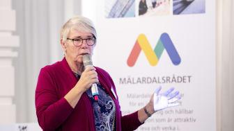 Monica Johansson (S) regionstyrelsens ordförande Region Sörmland och vice ordförande Mälardalsrådet