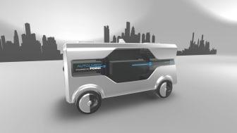 Fords Autolivery – ett koncept för framtida transporter.