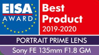 EISA-Award-Sony-FE-135mm-F1