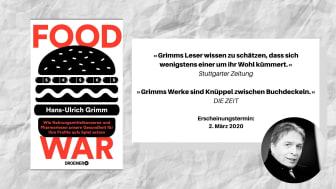 Food War: Dr. Hans-Ulrich Grimm über das Milliardenspiel mit unserer Gesundheit