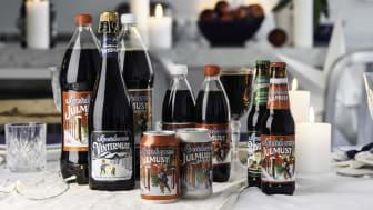 Apotekarnes utökar mustfamiljen med Bryggarmust- en alkoholfri blandning av julmust och julöl
