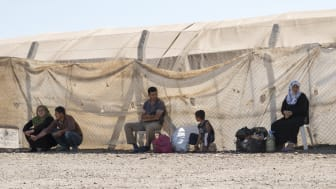 Refugee camp for Syrian people in Turkey