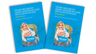 Titelblatt der nichtfinanziellen Berichte des Barmenia-Konzerns und der Barmenia Lebensversicherung a. G.