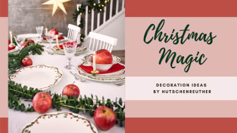 Nora Christmas collection combines the coziness of the merry Christmas days with the stylish elegance of tableware.