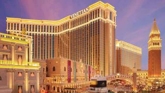 The Venetian Hotel & Casino - platsen för den årliga spelmässan i Las Vegas.
