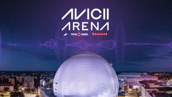 Ericsson Globe byter namn till Avicii Arena - Den ikoniska arenan blir en symbol för arbete med att förebygga psykisk ohälsa bland unga