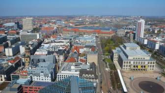 Blick auf Leipzig - Foto: Andreas Schmidt