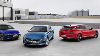 I forbindelse med introduktionen af den opdaterede Arten udvides modelpaletten med en sportslig 320 hk R-model og eHybrid plug-in-hybrid.