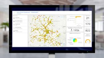 Díky spojení údajů z automobilů a ze senzorů lze rozpoznat široké spektrum nebezpečných míst.