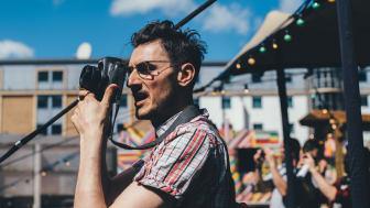 Det analoga fotomaratonet tar plats i Lunds stadskärna lördag den 21 april.