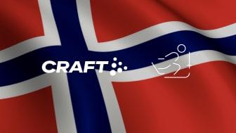 Craft Sportswear har tecknat ett 5-årigt avtal med Norges Skidförbund