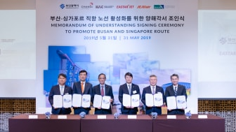 Multi-party partnership paves way for collaboration to promote travel and trade between Singapore and Busan