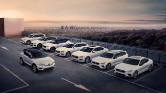 Volvo Cars' modelprogram