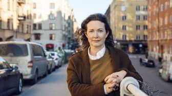 Jannice Johansson Steijner är nyvald styrelseledamot på Nyréns Arkitektkontor. Foto: Jonas Ericsson