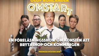 Sveriges mest etablerade föreläsare gör sin första egna scenföreställning
