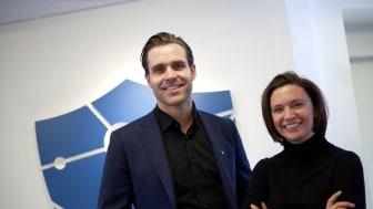 Daniel Fyhr och Petra Jonsson