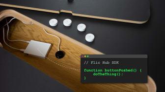 Flic Hub SDK puts your logic on the Flic Hub