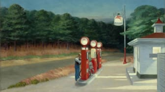 Edward Hopper, Gas, 1940©Heirs of Josephine Hopper : 2019, ProLitteris, Zurich