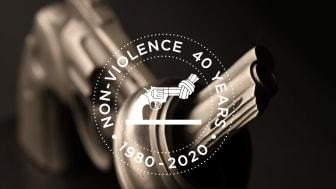 La Fondation suisse Non-Violence Project célèbre le 40e anniversaire de la sculpture du Pistolet Noué