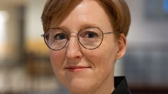 Hanna Ahrenby, doktorand, Institutionen för estetiska ämnen Bild: Mikael Heinonen