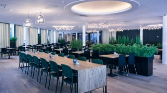 Den nye restauranten på Quality Airport Hotel Gardermoen