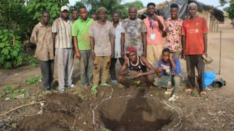 Hope Spring well building project in Ivory Coast