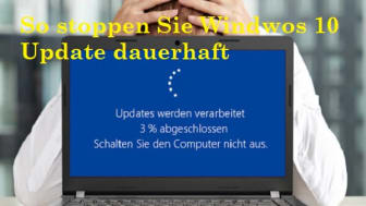 windows 10 update stoppen