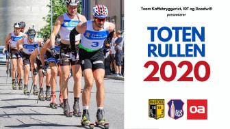 TOTENRULLEN 2020: Pølsa, Riise og Nyenget til start i sesongens første rulleskirenn