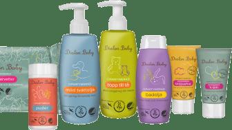 Dialon Baby är en komplett hudvårdsserie för babyns alla behov.