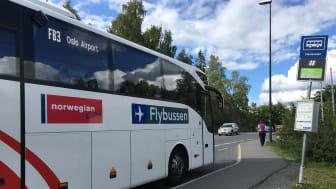 Flybussen er blitt Norwegians nye samarbeidspartner med rutenettverk  som dekker store deler av landet.