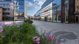 Lundbergs Fastigheters parkeringshus Braxen i centrala Linköping får bomfritt parkeringssystem i samband med att Dukaten tar över driften. Foto: Sofia Andersson, M&F Foto