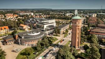Högskolan Västs campus i Trollhättan. Foto: Joachim Nywall