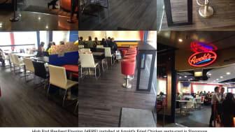 Restaurant Flooring Options in Singapore