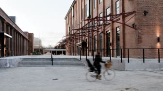 Bygningsstyrelsen har til huse i Henkel-bygningen, der tidligere er blevet restaureret af Arkitema Architects.