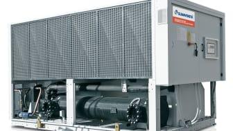 Nyheten FOCS-N-G05. Den nye serien av varmepumper med lav GWP verdi og høy kapasitet.