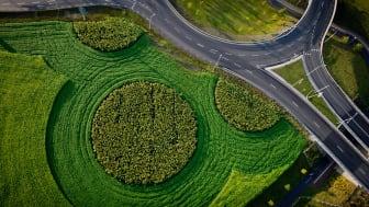 Åkermark blir Land Art i Hyllie