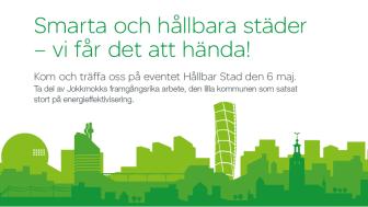 Träffa oss på konferensen Hållbar Stad 6 maj