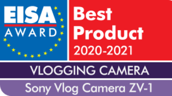 Sony celebrates success at EISA 2020 including first win for Vlogging Camera of the year