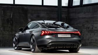 Verdenspremiere på Audi e-tron GT – Audis fuldt elektriske Gran Turismo