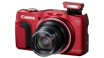 Zoom inn med PowerShot SX700 HS – Canons slankeste kamera med 30x optisk zoom