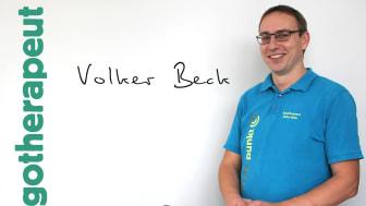 Volker Beck - Geschäftsführer des FPZ Rückenzentrums Meßstetten